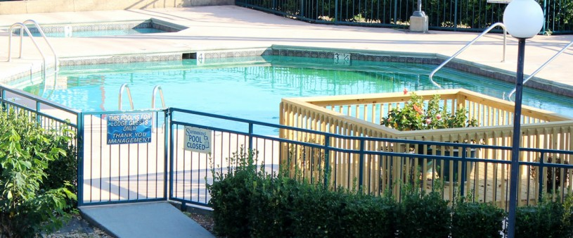 Activities at Pigeon Forge motels - here is the pool