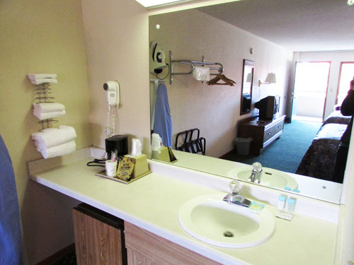 Classic motel room in Pigeon Forge at Arbors at Island Landing