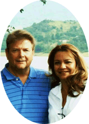 Lu & Jerry Calhoun - Your Hosts at our Pigeon Forge Motel