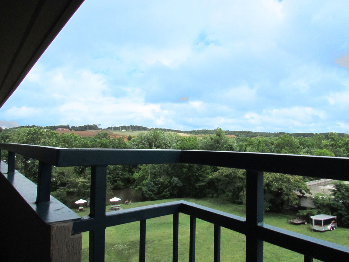 View from Luxury Mountain View Double Queen room at Arbors at Island Landing Hotel - Pigeon Forge