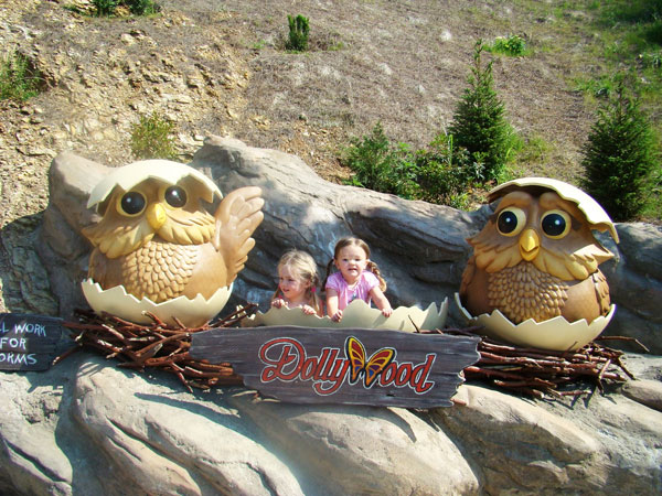 Dollywood is a short trolley wride away from the Pigeon Forge Hotel - Arbors at Island landing Hotel & Suites