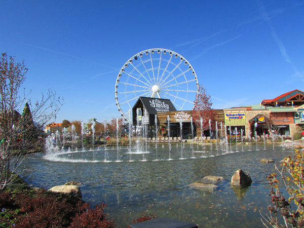 The Island at Pigeon Forge - hotels nearby are Arbors at Island Landing Hotel & Suites - Pigeon Forge - just one block