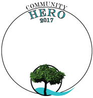 Community HERO award Arbors Hotel