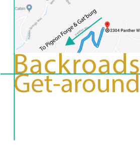 Shaconage bacroads directions