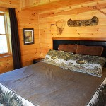 2nd Lower floor bedrm with bath and jet tub -  Luxury 5 Bed cabin rental, Pigeon Forge