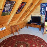 Loft Kids game and play area, -  Luxury 5 Bed cabin rental, Pigeon Forge