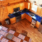 Kitchen, open plan great room -  Luxury 5 Bed cabin rental, Pigeon Forge