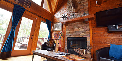 Tahlequah, Luxury log cabin Pigeon Forge vacation rentals at Arbors
