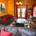 Game room with foosball and pool at Tahlequah Cabin, Arbors Vacation Rentals - Pigeon Forge