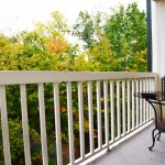 Mountain Grace balcony view - 2 bedroom condo overlooking the golf course