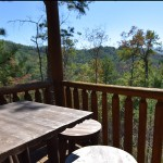 Lower Porch -Luxury 5 Bed cabin rental, Pigeon Forge