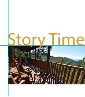 The Story of the this cabin or condo in Pigeon Forge