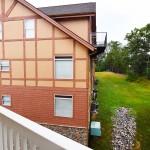 Luxury Condo 2 Bedroom Arbors Vacation Rentals - balcony view toward 2nd condo building