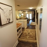 Luxury Condo 2 Bedroom Arbors Vacation Rentals - hall with bunks cubby to left and 2nd bedrm to right